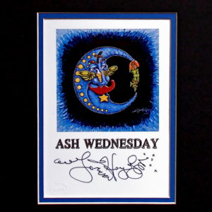 Ash Wednesday 8″ x 10″ Double Matted Print