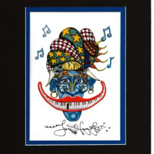Bluesman 8″ x 10″ Double Matted Print