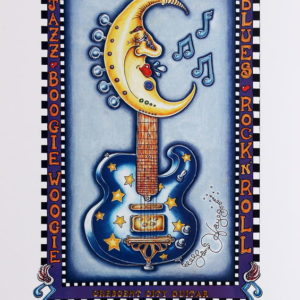 Crescent City Guitar Limited Edition Print
