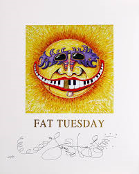 Fat Tuesday Limited Edition Print