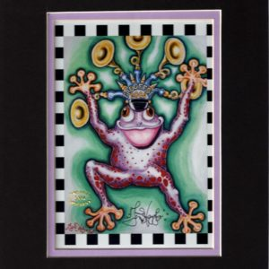 Frogfest 8″ x 10″ Double Matted Print