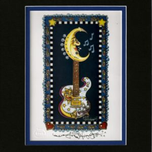 Lunar Tuner 8″ x 10″ Double Matted Print