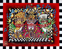 Happy Mardi Gras Limited Edition Print