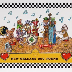 New Orleans Dog Pound Limited Edition Print