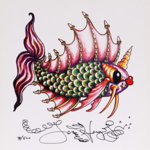 Fancy Pucker Fish Limited Edition Print