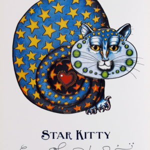 Star Kitty Limited Edition Print