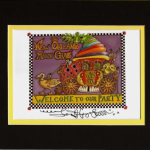 Welcome to Our Party 8″ x 10″ Double Matted Print