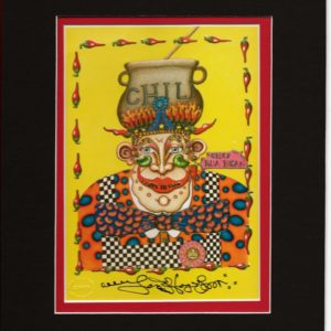 New Orleans Chef 8″ x 10″ Double Matted Print