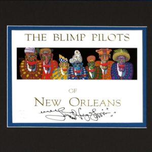 The Blimp Pilots 8″ x 10″ Double Matted Print