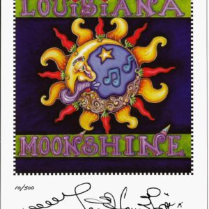Louisiana Moonshine Print