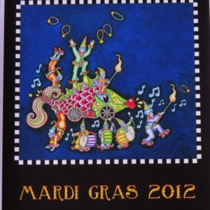 Mardi Gras 2012 Fine Art Giclee, Signed, Numbered