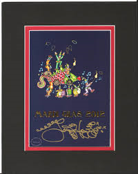 Mardi Gras 2012 Double Matted 8″ x 10″ Signed Print