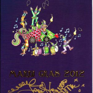 Mardi Gras 2012 Limited Edition Lithograph