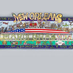 2013 Mardi Gras/Super Bowl Design