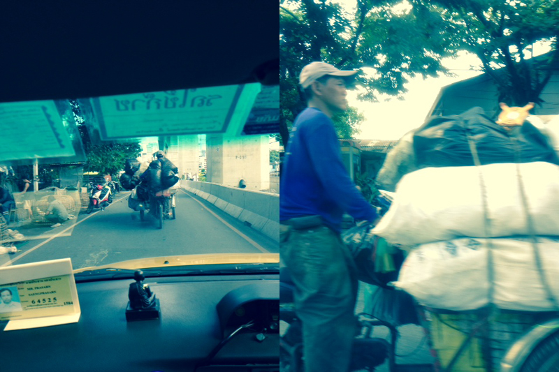 Bangkok bike taxi combo