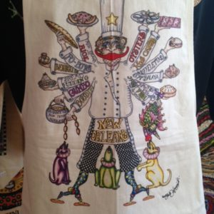 Where's My Boudin? 100% Cotton Apron