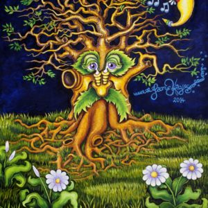 New Orleans Oak Tree, Giclee on Canvas, signed and numbered