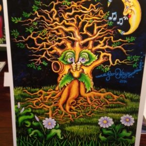 New Orleans Singing Oak Limited Edition Fine Art Giclee, signed 12 x 16