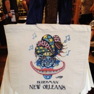 NEW! Bluesman Canvas Tote