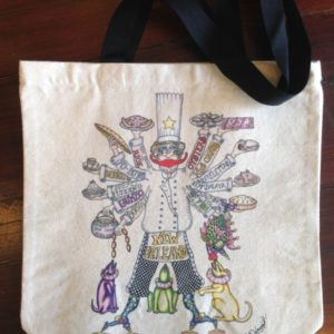 Where's My Boudin Chef Canvas Tote