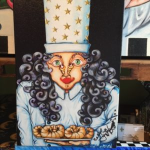 Mrs. Chef, Hand-Stretched Giclee on Canvas, signed and numbered