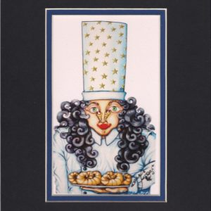 Mrs. Chef 8″ x 10″ Fine Art Giclee, signed