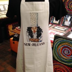 Mrs. Chef Cotton Apron