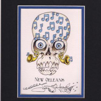music note skull 001
