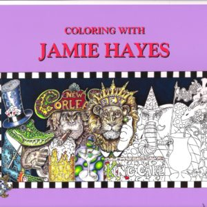 Coloring with Jamie Set of 35 coloring pages from 25 years of Jamie's drawings