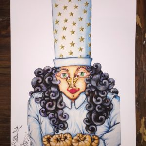 Mrs. Chef Limited Edition Fine Art Giclee, signed 12 X 16