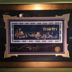 "FRAMED ""Thoth"" Mardi Gras , fine art giclee on paper, signed and numbered by Jamie"