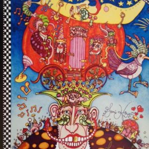King of Mardi Gras 2010 Giclee on Canvas, signed, numbered and remarqued 16″ x 20″
