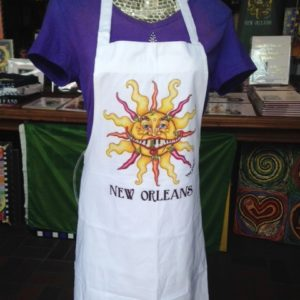 Chili Pepper Sun 100% cotton Apron