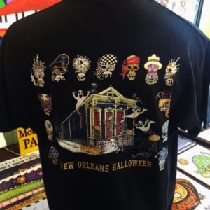 New Orleans Halloween Crew Neck 100% cotton T-shirt, Choose your shirt color!
