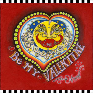 """Be My Valentine"" Limited Edition Fine Art Giclee, signed and remarqued 12 X 16"