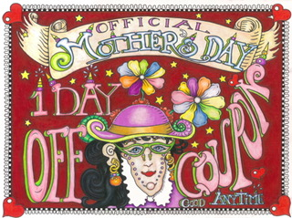 Mother's Day Limited Edition Fine Art Giclee, signed and remarqued 12 X 16