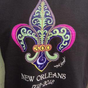 300th Anniversary Unisex Crew Neck 100% cotton T-shirt, Choose your shirt color!