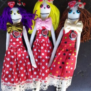 Jamie Hayes' Valentine's Day Make-A-Wish doll, signed, one of a kind