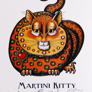 Martini Kitty Limited Edition Print