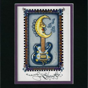 Crescent City Guitar 8″ x 10″ Double Matted Print