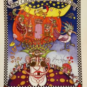 King of Mardi Gras Limited Edition Print