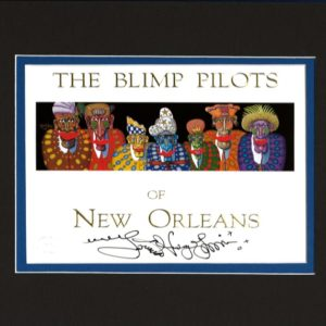 Blimp Pilots Signed Limited Edition Print