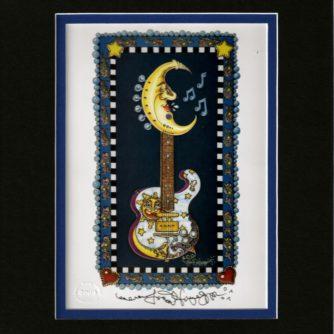 The Lunar Tuner Guitar