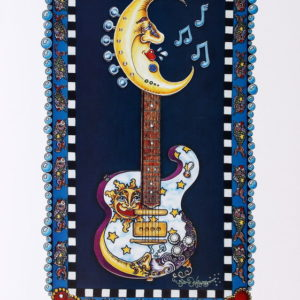 Lunar Tuner Guitar Limited Edition Print