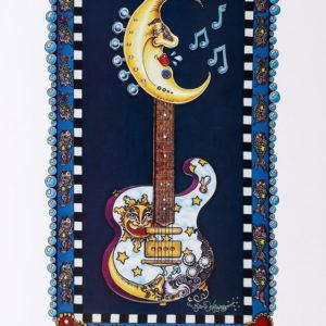 Lunar Tuner Guitar Limited Edition Print