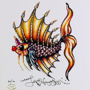 Another Fancy Pucker Fish Limited Edition Print