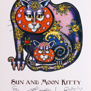 Sun and Moon Kitty Limited Edition Print