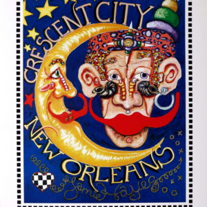 Crescent City – New Orleans Limited Edition Print