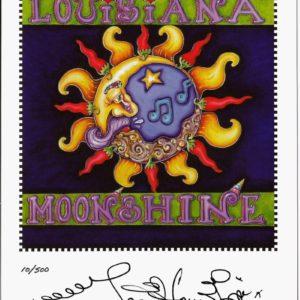 Louisiana Moonshine Print