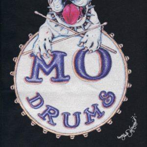 Mo Drums Crew Neck T-shirt, Choose your color!